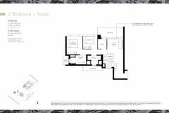 Margaret Ville - 2+Study Floor Plan