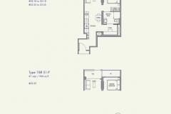 Parc Botannia - 1+Study Floor Plan