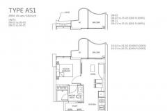Queens Peak - 1+1 Floor Plan