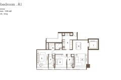 TwentyOne Angullia Park - 2 Bedroom Floor Plan